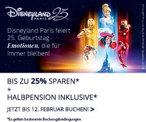 Disneyland Paris Angebot Frühjahr 2018