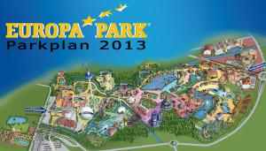Europa-Park Parkplan 2013