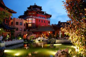 "Asiatisches Hotel ""Ling Bao"" im Phantasialand"