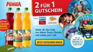 Punica verschenkt kostenlose Freizeitpark-Eintrittskarten