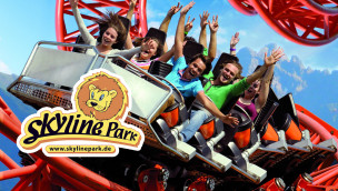 Skyline Park – Sky Spin OnRide-Video (Spinning Coaster)