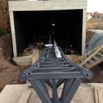 Achterbahn Baustelle Tripsdrill