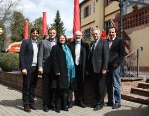 Regierungspräsidentin Bärbel Schäfer im Europa-Park