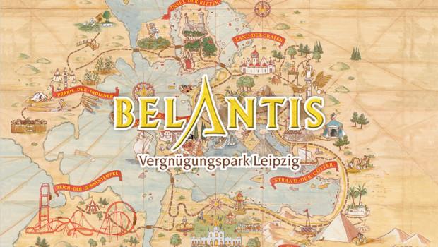 Belantis Freizeitpark in Leipzig