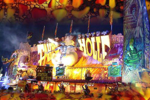 """Die """"Fahrt zur Hölle"""" ist 2013 die neue Geisterbahn in Geiselwind"""