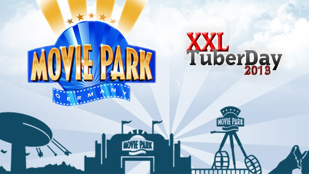XXL TuberDay 2013 im Movie Park Germany