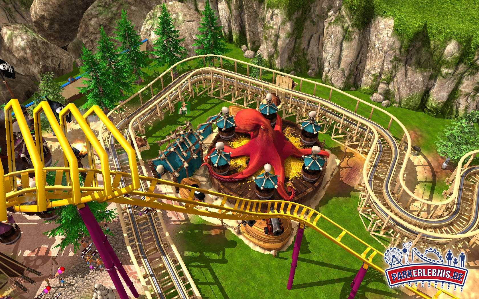 Build Your Own Amusement Park Games On Steam