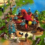 Ein See Mitten im Freizeitpark? Das Computerspiel Adventure Park lässt keine Wünsche bei der Geländegestaltung offen.