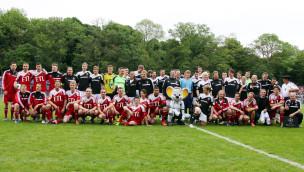 Prominenten-Benefiz-Fußballspiel im Europa-Park