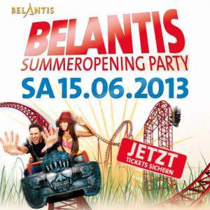 Belantis Summer Opening 2013 Tickets