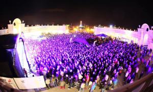 Die SummerOpening-Party im letzten Jahr. Auch 2014 wird das Belantis-Event wieder tausende Besucher anlocken.