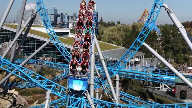 Blue Fire Achterbahn im Europa-Park
