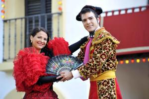 Ola España: Die Flamencotänzer des Europa-Park heizen dem Publikum ein.