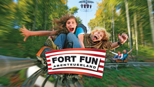 Fort Fun Abenteuerland Weihnachtsgutschein 2014 mit bis zu 10% Rabatt auf Tickets und Jahreskarten