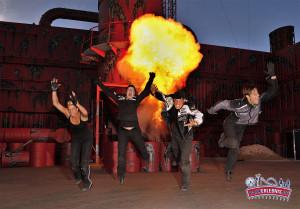 Dangerous ist die neue Stuntshow 2013 im Skyline Park!
