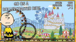 Snoopy Coaster Screenshot 1