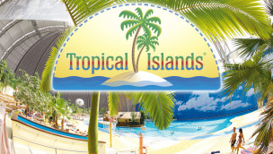 Tropical Islands wird um großen Outdoor-Wasserpark erweitert