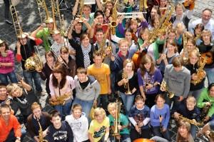 Über 2500 Jugendliche werden zum Euromusique Festival 2013 erwartet