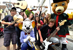 Die Euromaus freut sich bereits auf das Euromusique Festival 2013 im Europa-Park