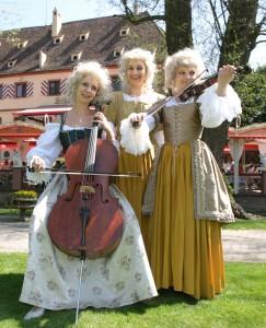 Barocke Musik live beim Schlossfest im Europa-Park Rust
