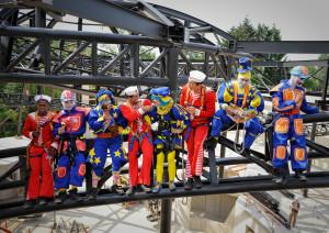 """""""Lunch atop a track"""" - auf den Schienen der Arthur-Großattraktion im Europa-Park"""