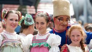 Russische Tradition erleben - das ist möglich beim Russland-Fest 2013 im Europa-Park Rust