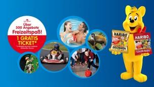 HARIBO Freizeitspaß 2014 – Kostenlose Freizeitpark-Gutscheine gültig bis August 2015