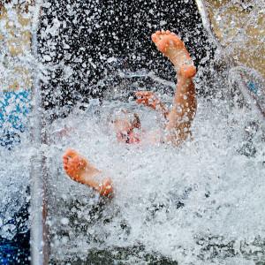 Wasserspaß im Litill Island im Europa-Park Rust