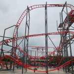 Skyline Park - Sky Spin Baustelle 1