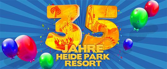 Geburtstag 35 Jahre Heide-Park