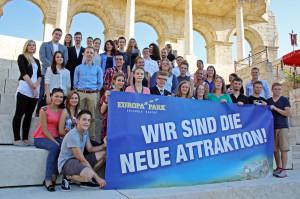 Auszubildende 2013 Europa-Park