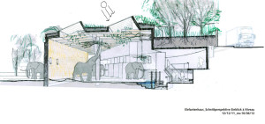 Basel Zoo Elefantenhaus Konzept
