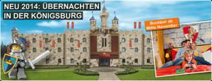 Königsburg im Legoland Deutschland