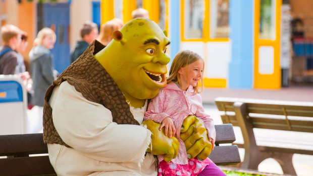Shrek im Movie Park Germany