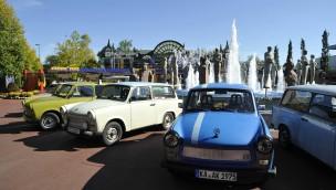 Trabi-Parade durch den Europa-Park am Tag der Deutschen Einheit 2015 angekündigt