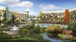 Cabana Bay Beach Resort im Universal Orlando Resort