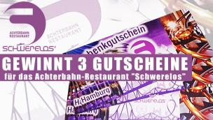 Restaurant Schwerelos Hamburg – 3 Gutscheine für Achterbahnrestaurant zu gewinnen!