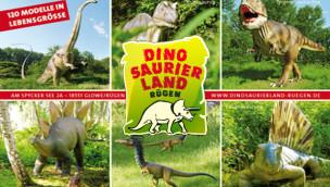 Erneuerung des Dinosaurierland Rügen 2014 fertiggestellt