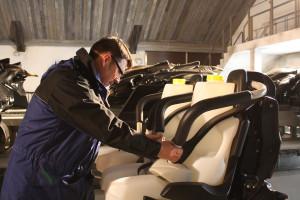 Wing Coaster im Heide-Park beim TÜV Test