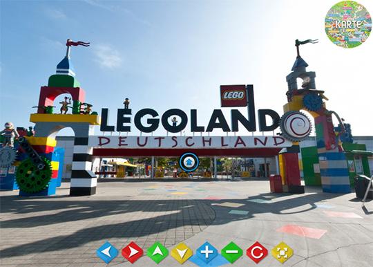 Legoland Deutschland virtuelle Parktour