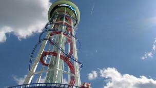 Höchste Achterbahn der Welt mit 160 Metern Höhe angekündigt