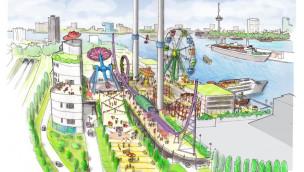 Freizeitpark Rotterdam soll bis 2015 im Hafen entstehen