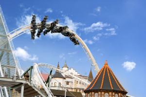 Heide-Park Wing Coaster Eröffnung