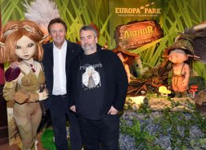 Roland Mack und Luc Besson im Europa-Park