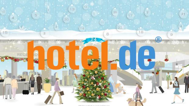 Hotel.de Adventskalender 2013