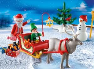 Playmobil Figuren im Schnee