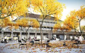 Zoo Basel Restaurant-Konzeptgrafik
