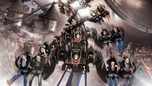 Flug der Dämonen – Name des Heide-Park Wing Coaster 2014 enthüllt