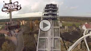 "Heide-Park – Flug der Dämonen Video zum ""Wing Over Drop"""