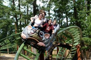 Rattenmühle Achterbahn im Familypark Neusiedlersee